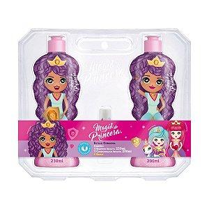 Shampoo e Condicionador Princesa Corajosa - Magia de Princesa