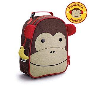 Lancheira Térmica Linha Zoo Macaco - Skip Hop Infantil