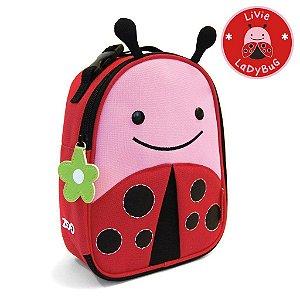 Lancheira Joaninha Livie Ladybug Skip Hop Infantil
