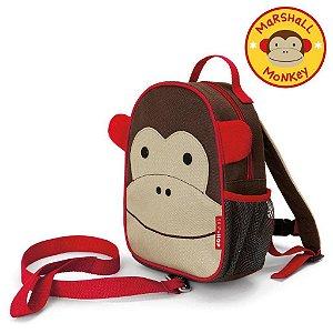 Mochila com Cinto Macaco Marshal Monkey Skip Hop Infantil