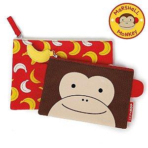 Kit Necessaire Skip Hop Linha Zoo Macaco Marshal Monkey