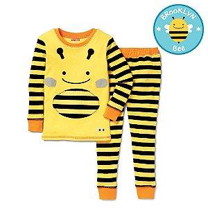 Pijama Linha Zoo Skip Hop Zoojamas Tema Abelha Brooklyn Bee