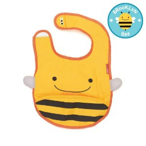 Babador Impermeável Linha Zoo Tema Abelha Brooklyn Bee - Skip Hop
