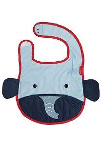 Babador Impermeável Skip Hop Linha Zoo Tema Elefante Bibs Elephant