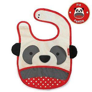 Babador Impermeável Linha Zoo Tema Panda Pia - Skip Hop