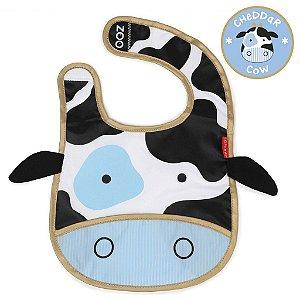 Babador Impermeável Linha Zoo Tema Vaca Cheddar Cow - Skip Hop