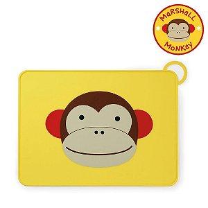 Jogo Americano Skip Hop Linha Zoo Silicone Macaco Marshal Monkey