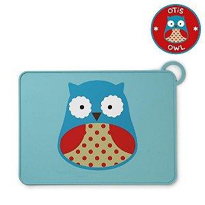 Jogo Americano Skip Hop Linha Zoo Silicone Coruja Otis Owl