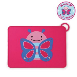 Jogo Americano Skip Hop Linha Zoo Silicone Borboleta Blossom Butterfly
