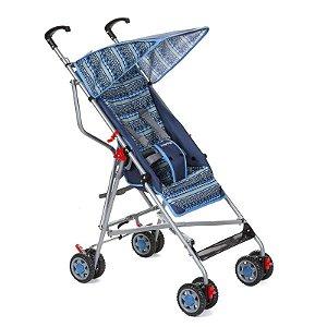 Carrinho de Bebê Guarda Chuva Slim Voyage Azul