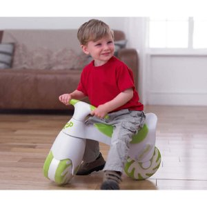 Bicicleta Bouncycle Pula e Anda Verde - TP Toys