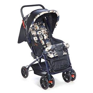 Carrinho de Bebê Funny Voyage Azul
