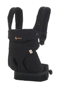 Canguru Ergobaby 360 Baby Carrier Pure Black