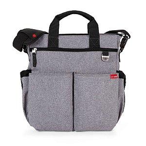 Bolsa Maternidade Diaper Bag Duo Signature Heather Grey Skip Hop