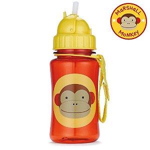 Garrafinha com Canudo Skip Hop Zoo Macaco Marshal Monkey