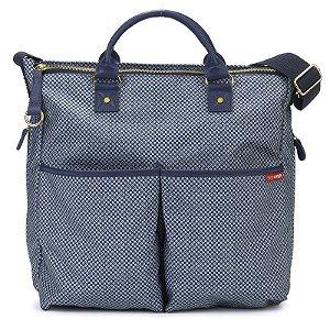 Bolsa Maternidade Diaper Bag Skip Hop Duo Special Edition Blue Pinpont Azul