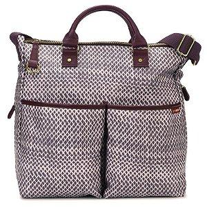 Bolsa Maternidade Diaper Bag Skip Hop Duo Special Edition Plum Sketch