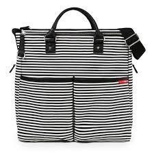 Bolsa Maternidade Diaper Bag Skip Hop Duo Special Edition Black Stripe Preta