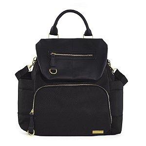 Bolsa Maternidade Diaper Bag Chelsea BackPack Black Preta Nova - Skip Hop