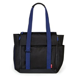 Bolsa Maternidade Skip Hop Diaper Bag Fit All Black Cobalt
