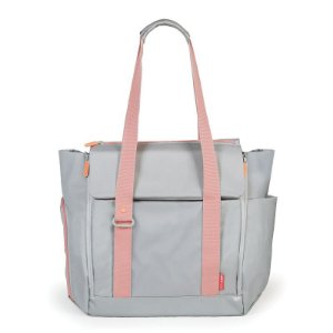 Bolsa Maternidade Skip Hop Diaper Bag Fit All Platinum Coral