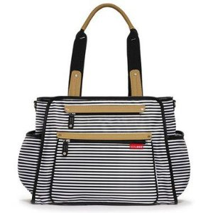 Bolsa Maternidade Diaper Bag Grand Central Black Stripe - Skip Hop