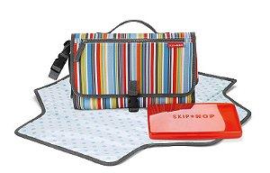 Trocador Portátil Skip Hop Pronto Metro Stripes Listrado