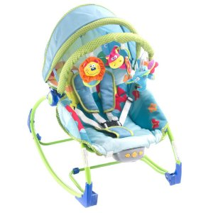 Cadeirinha de Descanso Bouncer Sunshine Baby Safety 1st Pet´s World Animaizinhos