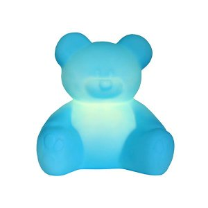 Abajur Luminária Ursinho Azul