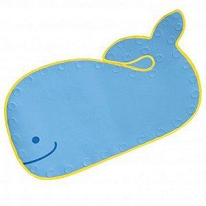 Tapete para Banho Anti derrapante Skip Hop Baleia Moby Azul
