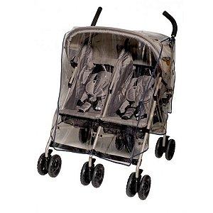 Capa de Chuva para Carrinho de Bebe Gemeos Lado a Lado Jolly Jumper