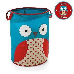 Organizador de Brinquedos Cilindrico Skip Hop Linha Zoo Coruja Otis Owl