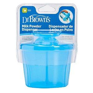 Porta Leite em Pó Azul Dr Browns
