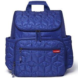 Bolsa Maternidade Skip Hop Diaper Bag Forma BackPack Indigo