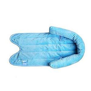 Suporte Apoio de Cabeça para Carrinho Bebe Conforto e Cadeirinhas para Carro Azul