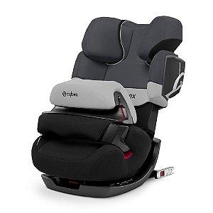 Cadeirinha para Carro Auto Pallas 2-Fix com Isofix Cybex Cinza e Preta  9 a 36 kg