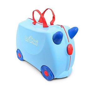 Mala de Viagem com Rodinha Infantil Trunki Azul Bebe George Blue