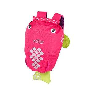 Mochila PaddlePak Passeio Trunki Peixe Coral Pink Rosa
