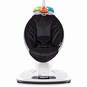 Cadeira de Balanço e Descanso elétrica Mamaroo 4.0 Geração Classic Black - 4Moms