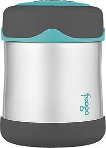 Pote Térmico para alimentos Cinza e Azul Thermos Foogo 290 ml