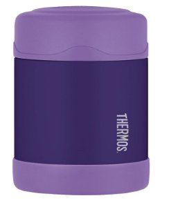 Pote Térmico para alimentos Funtainer Roxo Thermos Foogo 290 ml