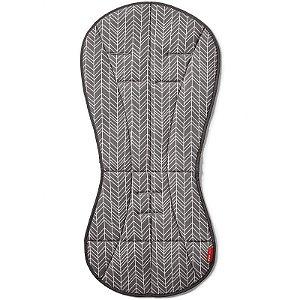 Capa Protetora para Carrinho Cool Touch  Stroller Line Grey Feather Skip Hop