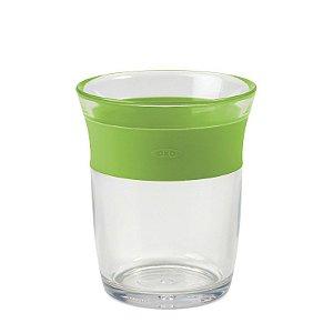 Copo infantil de Plástico  para crianças Grandes 150 ml Oxotot Verde