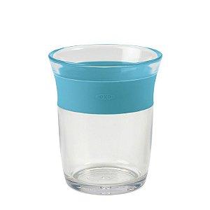 Copo infantil de Plástico  para crianças Grandes 150 ml Oxotot Azul