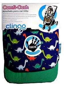 Colchão para Carrinho Comfi Cush Dinossaur Fun - Clingo
