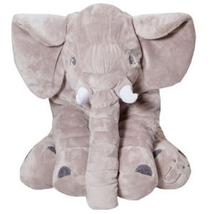 Almofada Elefante de Pelúcia Buguinha - Buba Baby