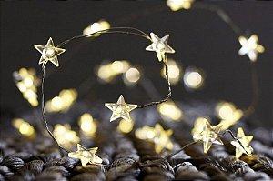 Fio de Luz Flexível de Led Estrelas para Quarto