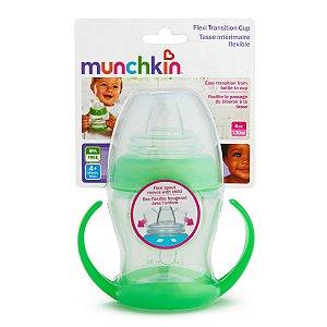 Copo de Treinamento Transição 118 ml Munchkin Verde