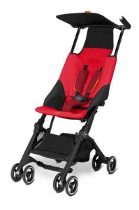 Carrinho de Bebê Pockit GB Vermelho - O menor Carrinho do Mundo