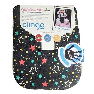 Mini Almofada para Carrinho Comfi Stars Coloridas - Clingo